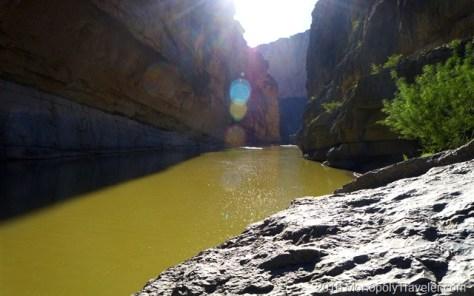 Rio Grande inside the canyon