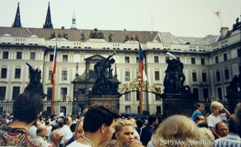In Prague as Czechoslovakia Prepared for Elections
