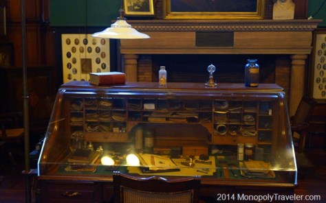 The Desk of a Great Inventor