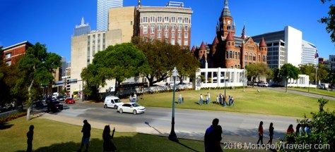 Dealey Plaza panoramic