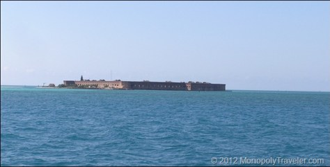 Arriving at Fort Jefferson
