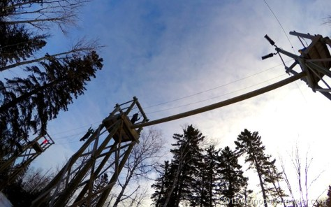 Ropes Course at Wolf Ridge