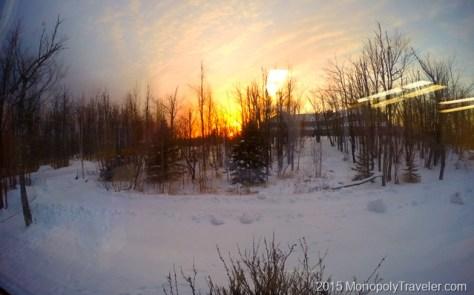 Sunset at Wolf Ridge