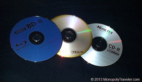CD, DVD, or Blu-Ray