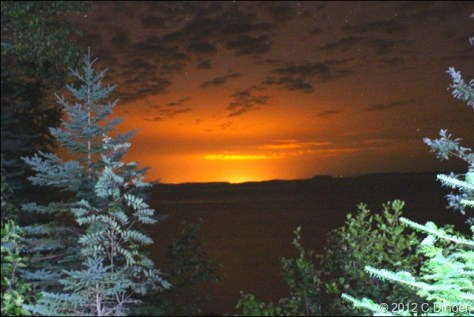 Thunderbay Cananda at Night