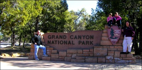 A More Fitting Entrance Sign to a Large National Park