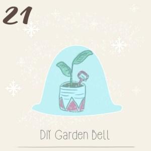 illustration calendrier de l'avent 2015 par mon petit balcon jour 21 - DIY pour protéger son balcon potager du froid et de l'hiver