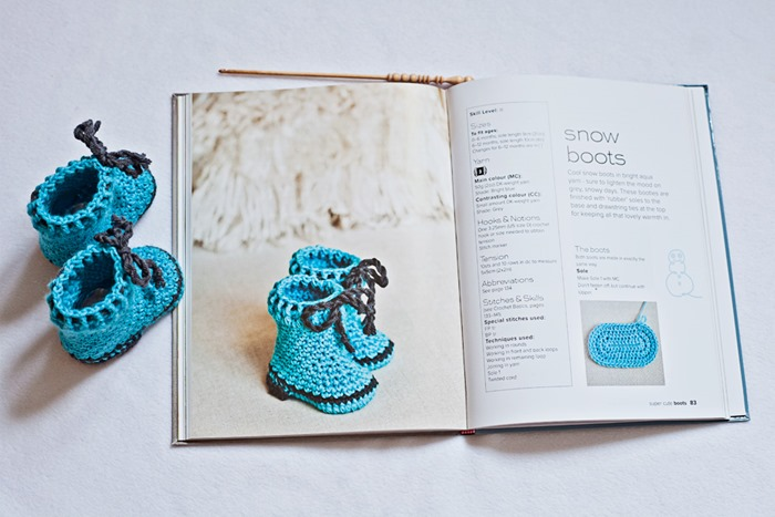 Free pattern–Snow Boots