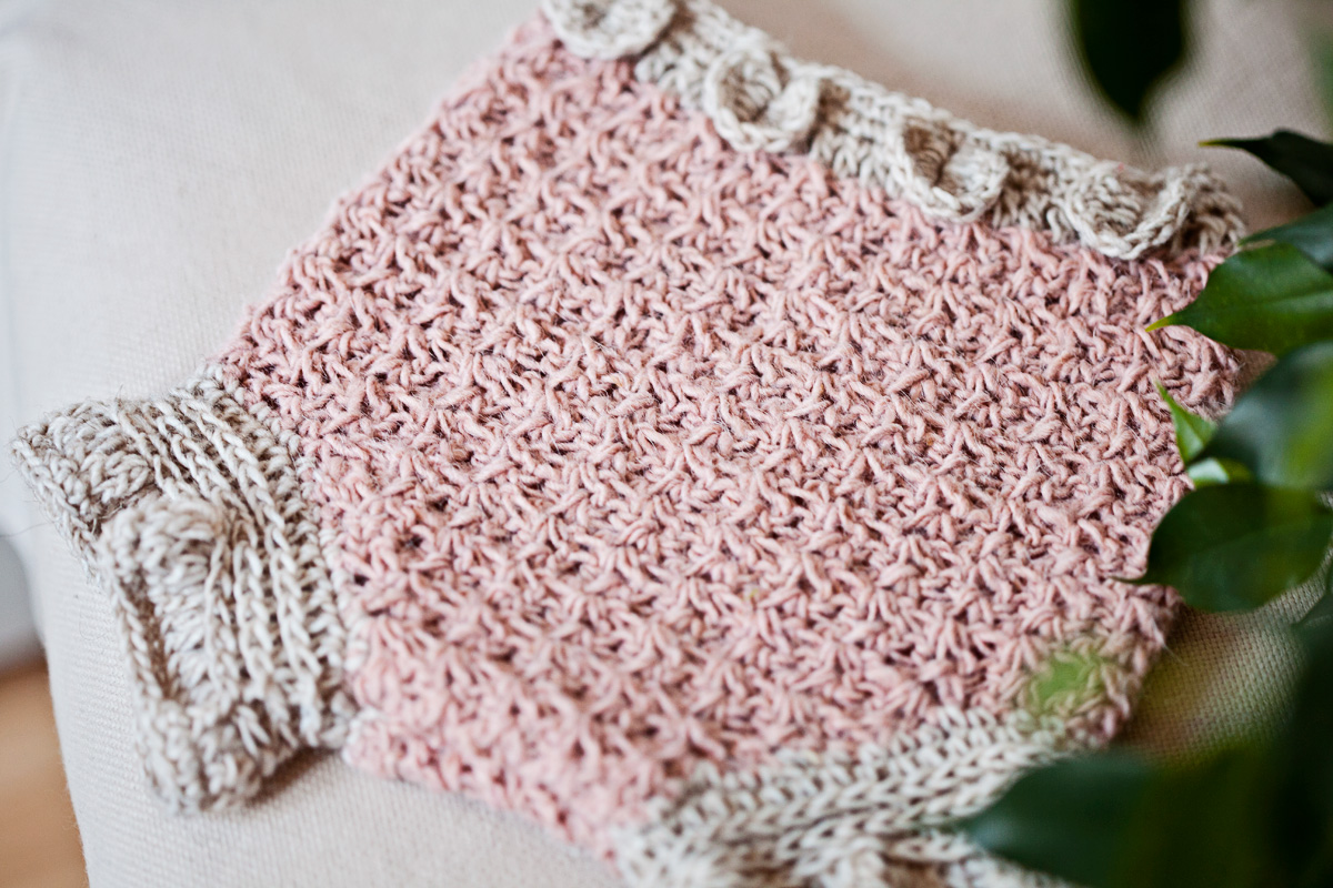 New crochet pattern – Petal Diaper Cover, with special offer!