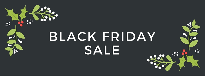 BLACK FRIDAY SALE – 50% off with coupon code BFS50