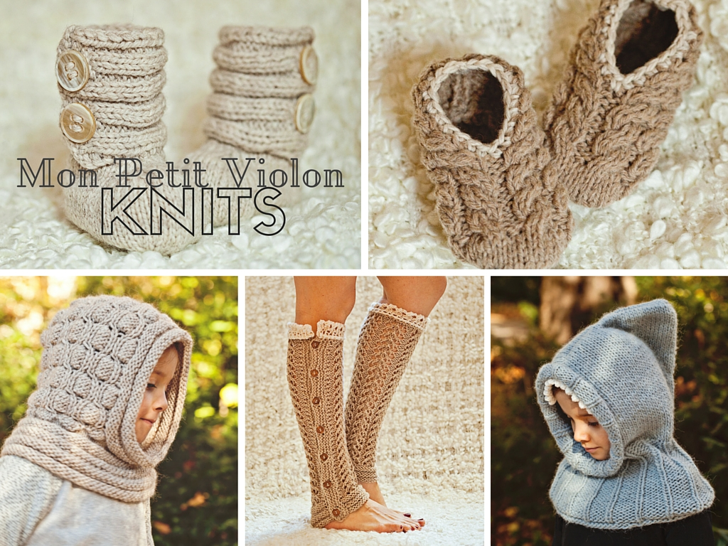 Do you knit? Check out brand new Mon Petit Violon Knits!