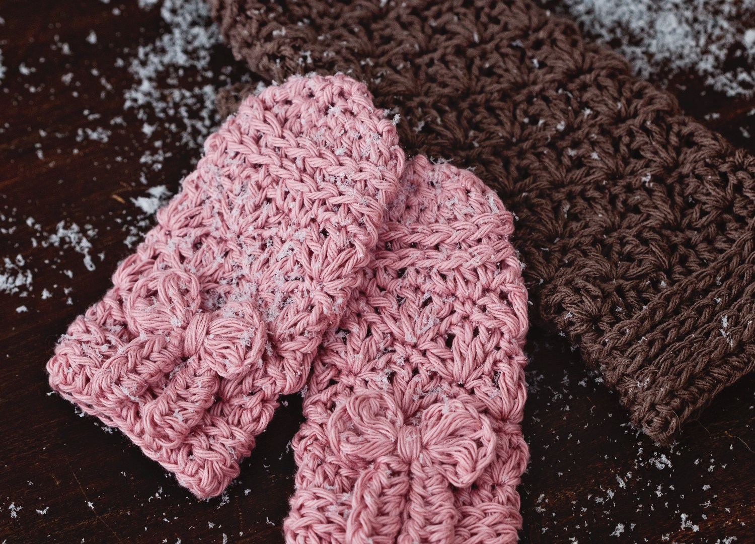 Super cute baby mittens (other sizes available too)!