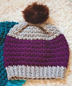 Slouchy Beanie, crochet pattern by Mon Petit Violon