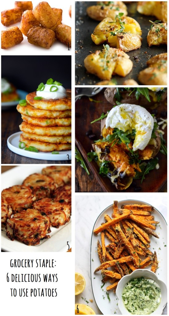 grocery staples | 6 Delicious Recipes to Use Potatoes | monstermonster
