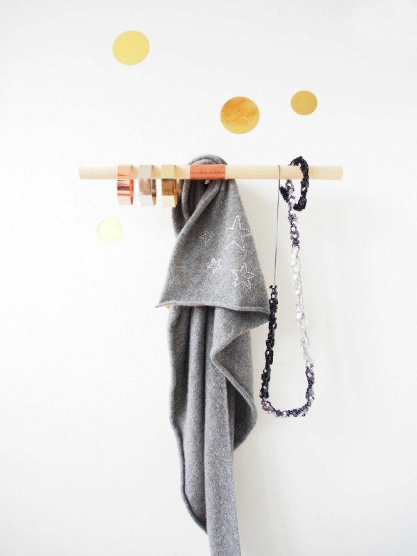 Make a Designer-Style Copper Wall Hook
