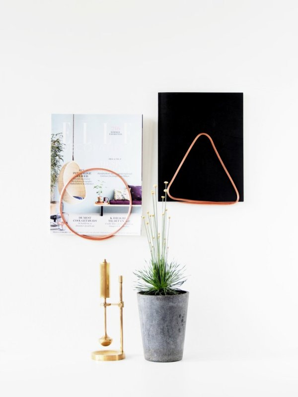 DIY-Magazine-Holders-copper-tube