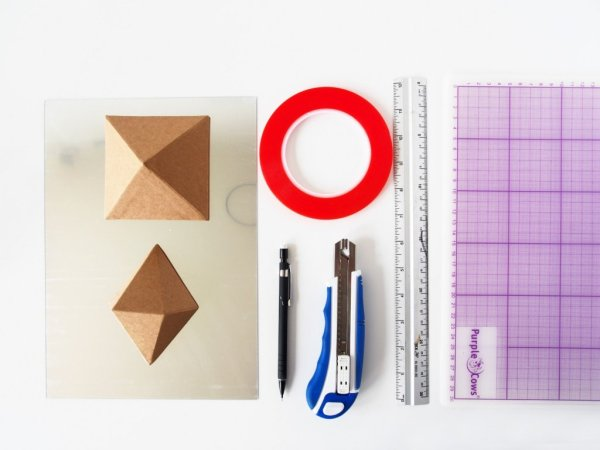 DIY-Geometric-Mirror-Wall-Decor-supplies