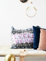 DIY Bohemian No-Sew Pillows