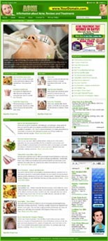 Acne Website & WordPress Theme