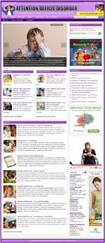 Attention Deficit Disorder WordPress Theme