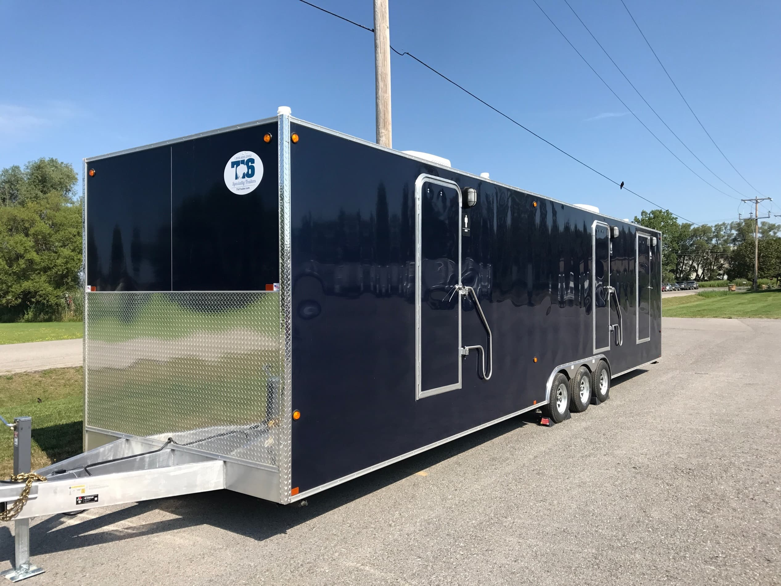 Trailer Categories  Commercial Grade Trailers  Portable Restroom. Portable Restroom Trailers For Sale   Portable Bathroom Trailers