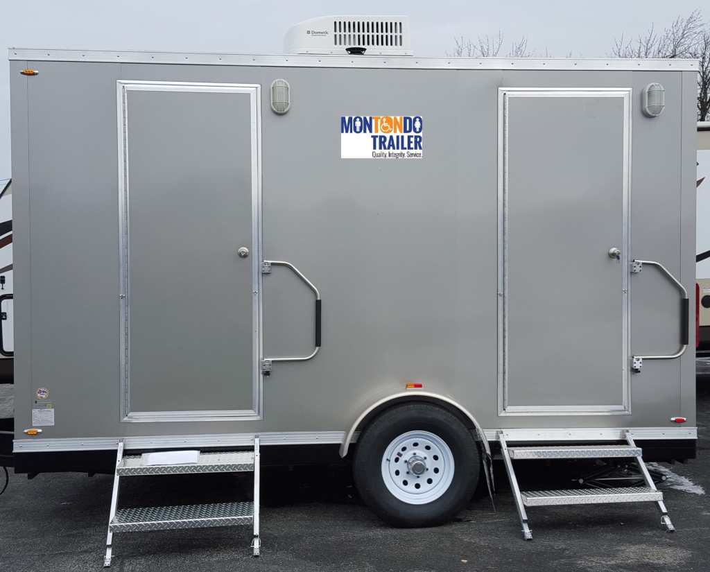Outdoor Restroom Trailers