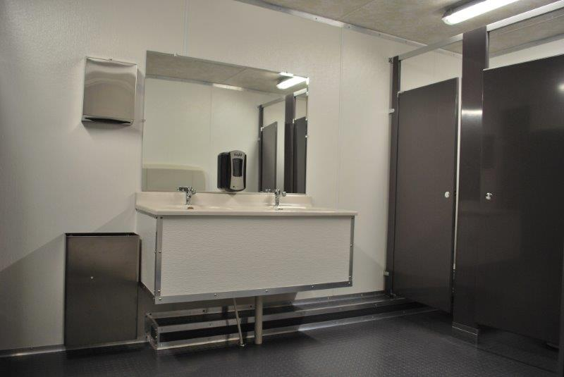 Commercial Grade Restroom Trailers