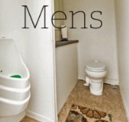 Men's Restroom Trailer