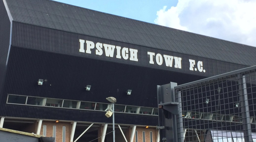 Ipswich Town Earlier Today