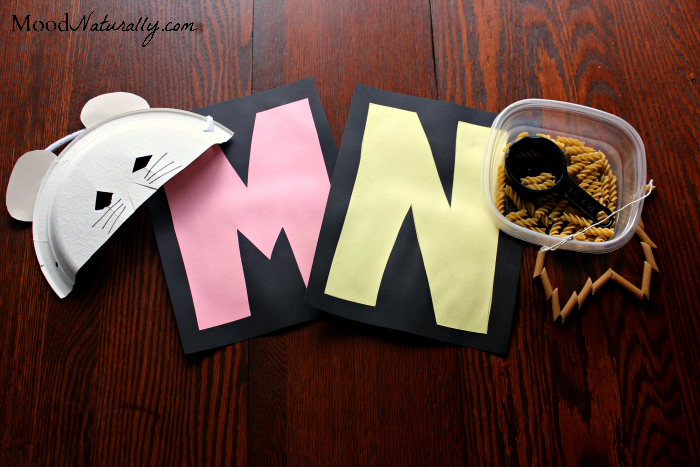 Alphabet Activity Plan - M&N