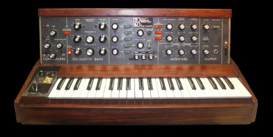 The super modded Duracell Minimoog