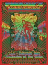4/19/15 Moonalice poster by Darrin Brenner