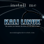 how to install kali linux in virtual box