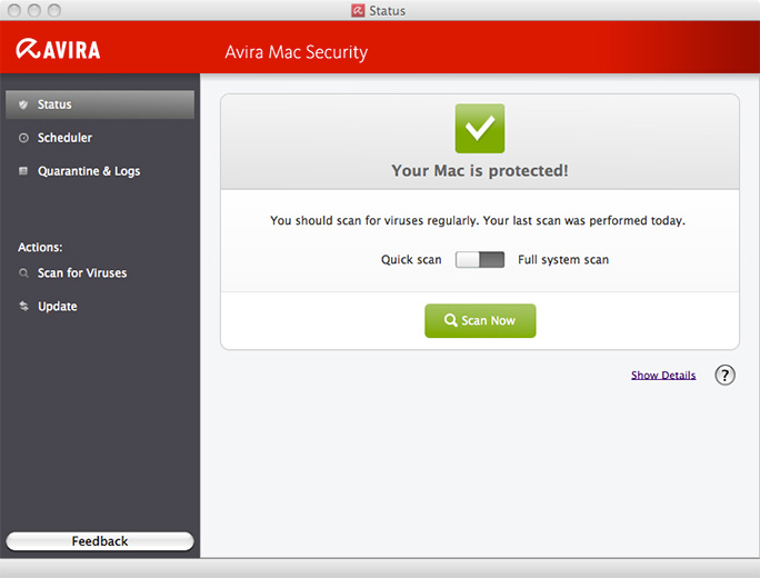 Mac防毒軟體 Avira Free Mac Security 1.0.0.61-5