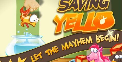 [Android/iOS]Saving Yello 搶救小金魚 超好玩的益智遊戲