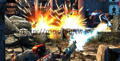 [限時免費下載]iOS上高水準的射擊遊戲 EPOCH.