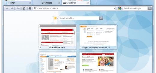 Opera 瀏覽器繁體中文版 最快的瀏覽器