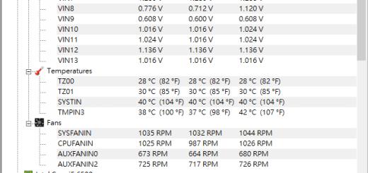 cpu溫度偵測軟體 - HWMonitor 免安裝
