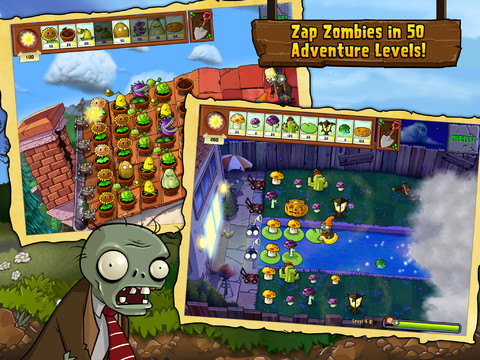 plants vs zombies完整版下載 for iOS