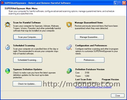 反間諜軟體下載 SuperAntiSpyware