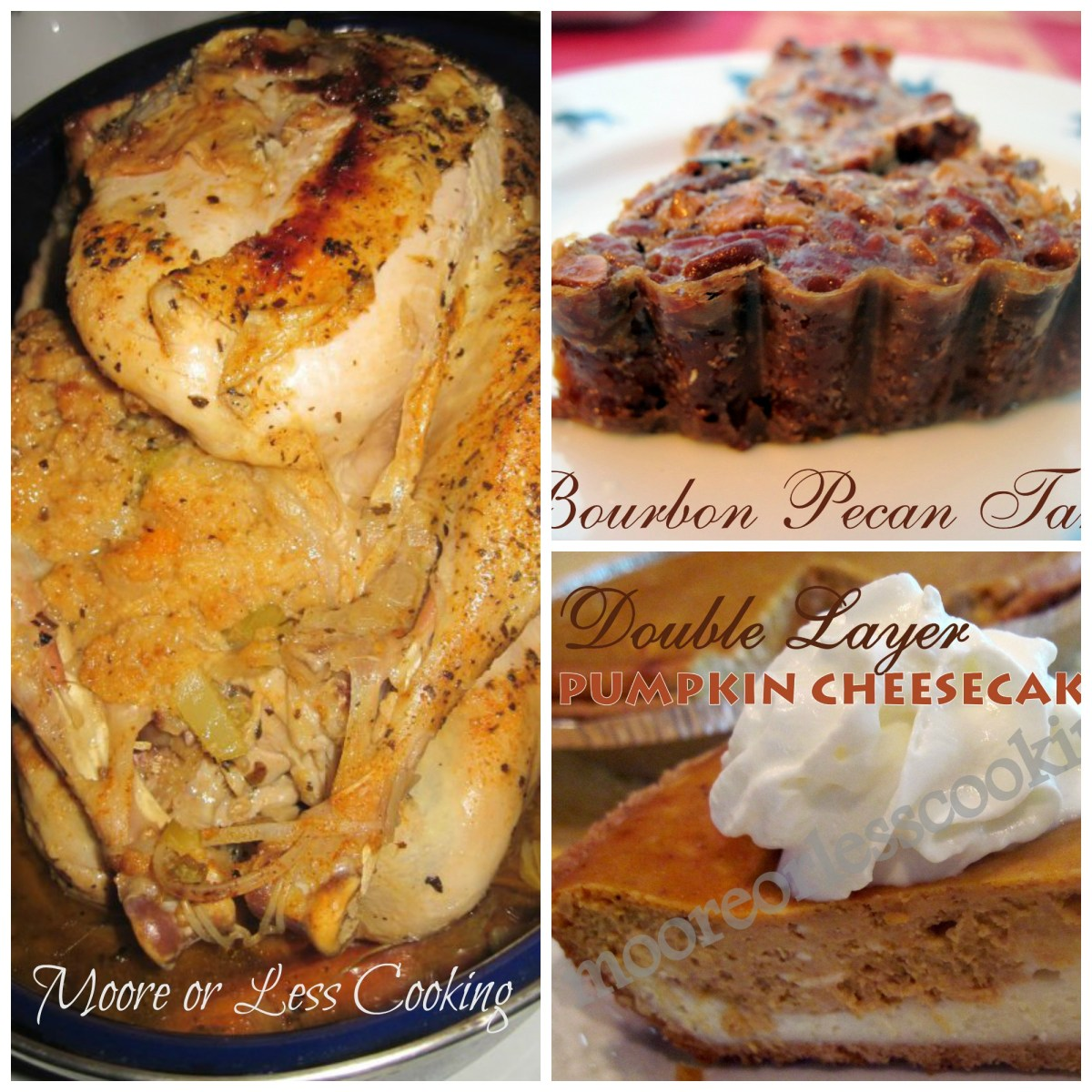 Moore or Less Cooking Favorite Thanksgiving Recipes!!