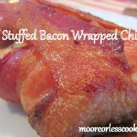 Cheesy Stuffed Bacon Wrapped Chicken