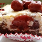 Fudgy Cherry-Cheesecake Brownie Bars