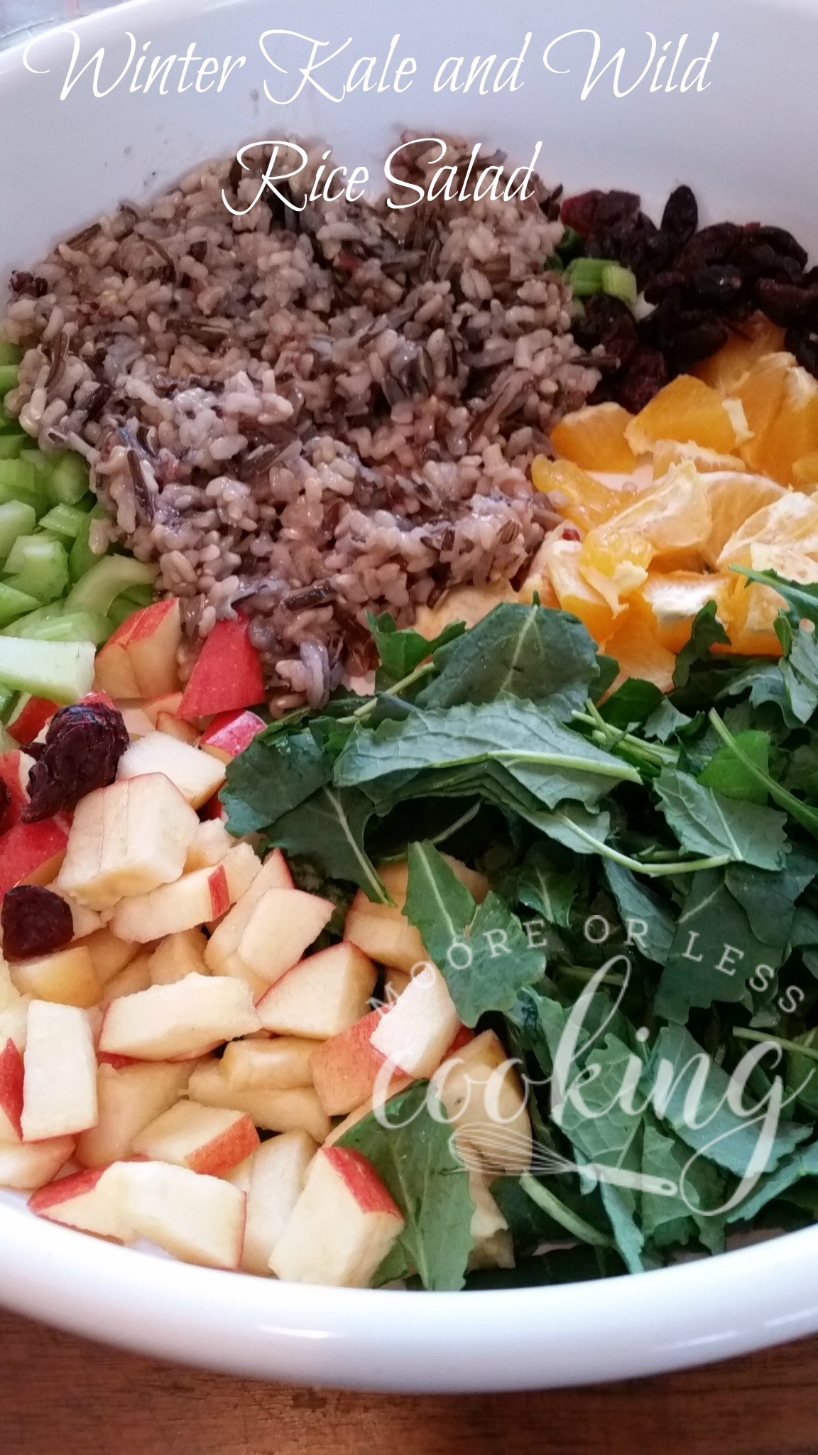 Winter Kale and Wild Rice Salad