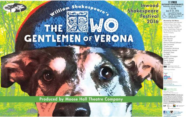 The Two Gentlemen of Verona - 2016