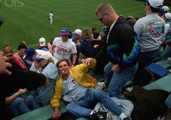 Drunk Baseball Fan