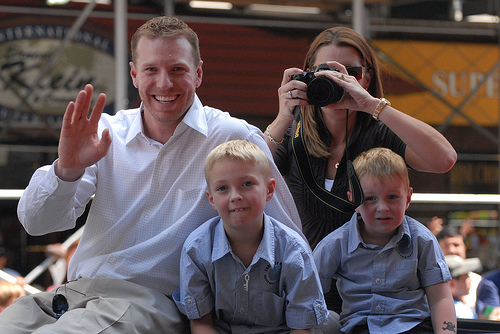 Roy Halladay & Family