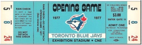 Toronto Blue Jays Opening Game