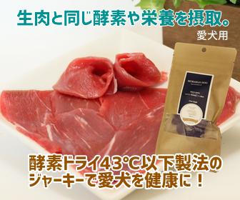 モラキジドッグ 酵素ドライ製法 牛肉 ジャーキー 犬用おやつ