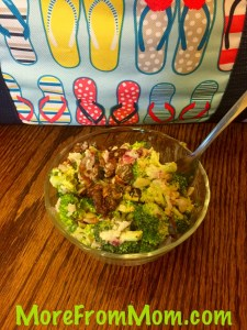 Broccoli Salad with….thats right BACON in it!